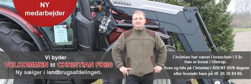Ny medarbejder - Christian Friis