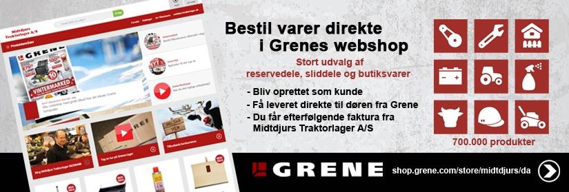 Grene webshop