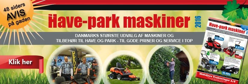 Have-Park maskiner 2016