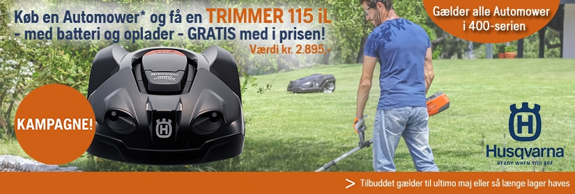 Automower inkl. trimmer