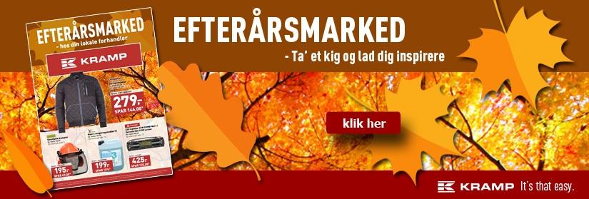 Efterårsmarked - Kramp