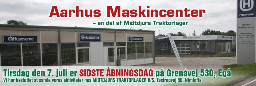Aarhus Maskincenter, lukker