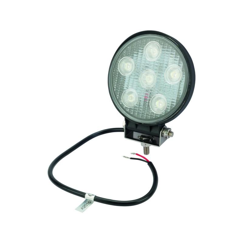 GoPart LED Arbejdslygte Spot 1850 Lumen m/ Ledning
