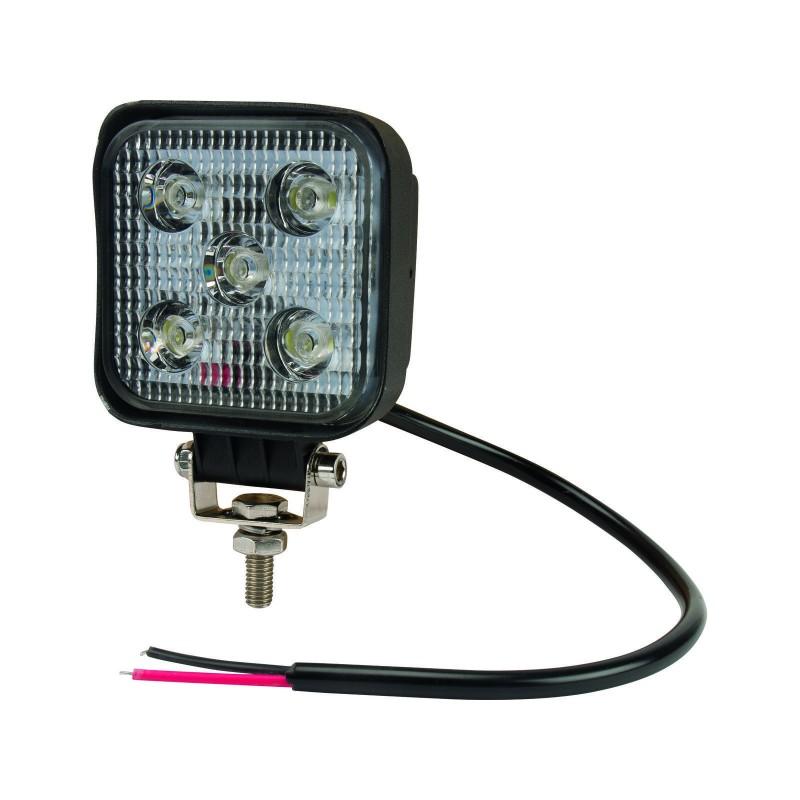 GoPart LED Arbejdslygte Flood 900 Lumen m/ Ledning