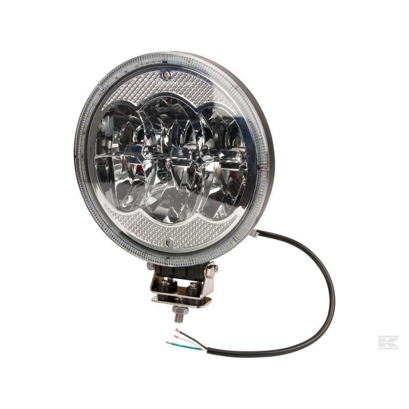 Kramp Rundt LED kørelys m/ positionslys