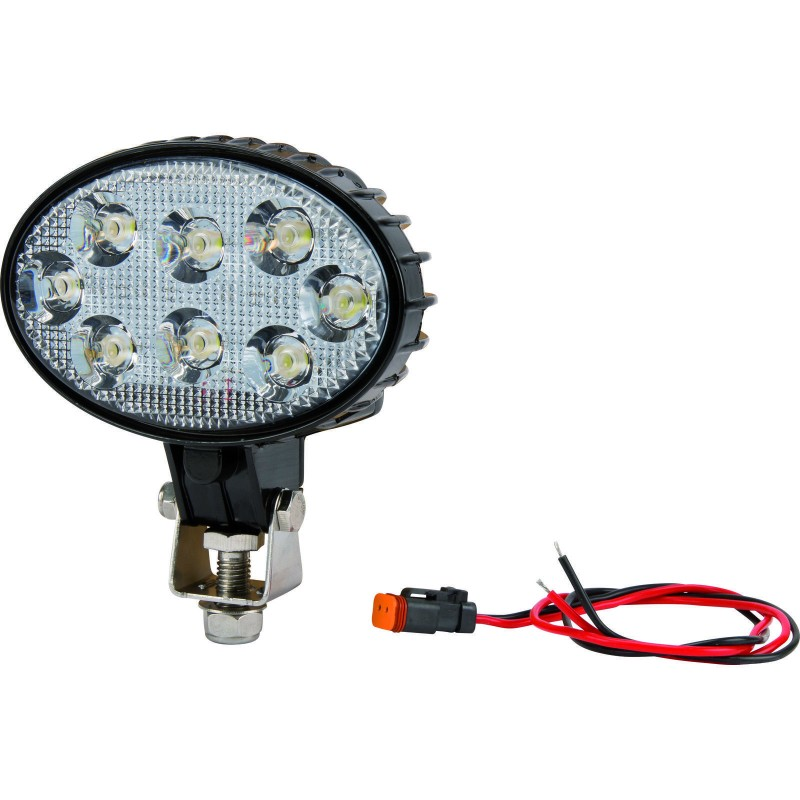 Kramp LED Arbejdslygte Flood 1200 lumen m/ Deutsch stik