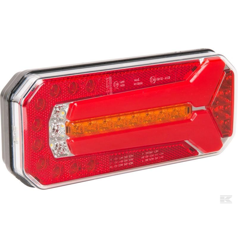 Kramp LED Baglygte m/ 5-pin