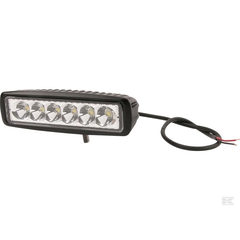 GoPart LED Arbejdslygte Flood 1080 Lumen m/ Ledning