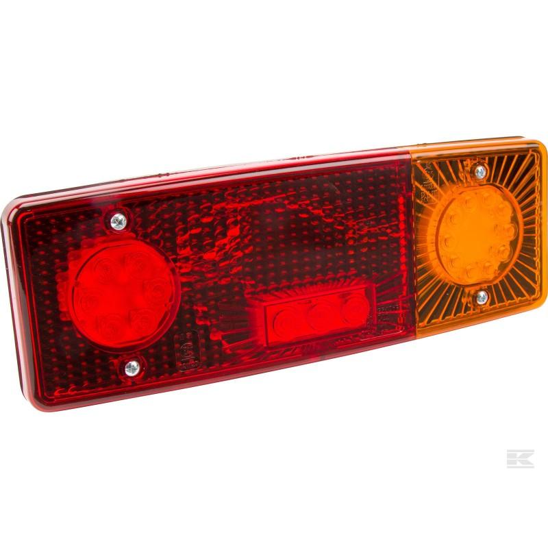 LED baglygte 12-24volt med 5-pin