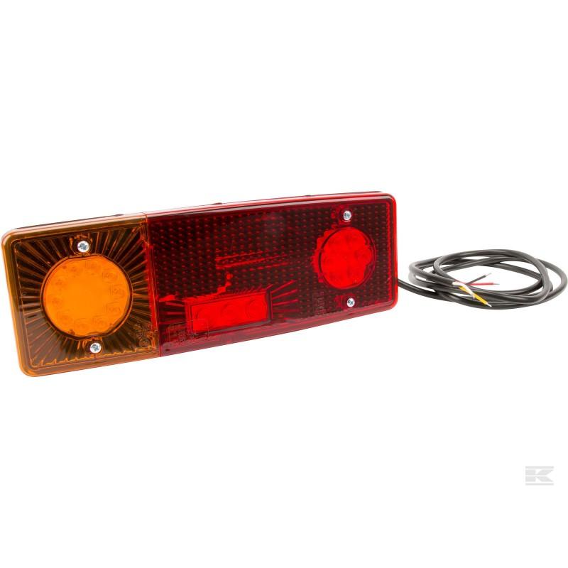 LED baglygte 12-24V