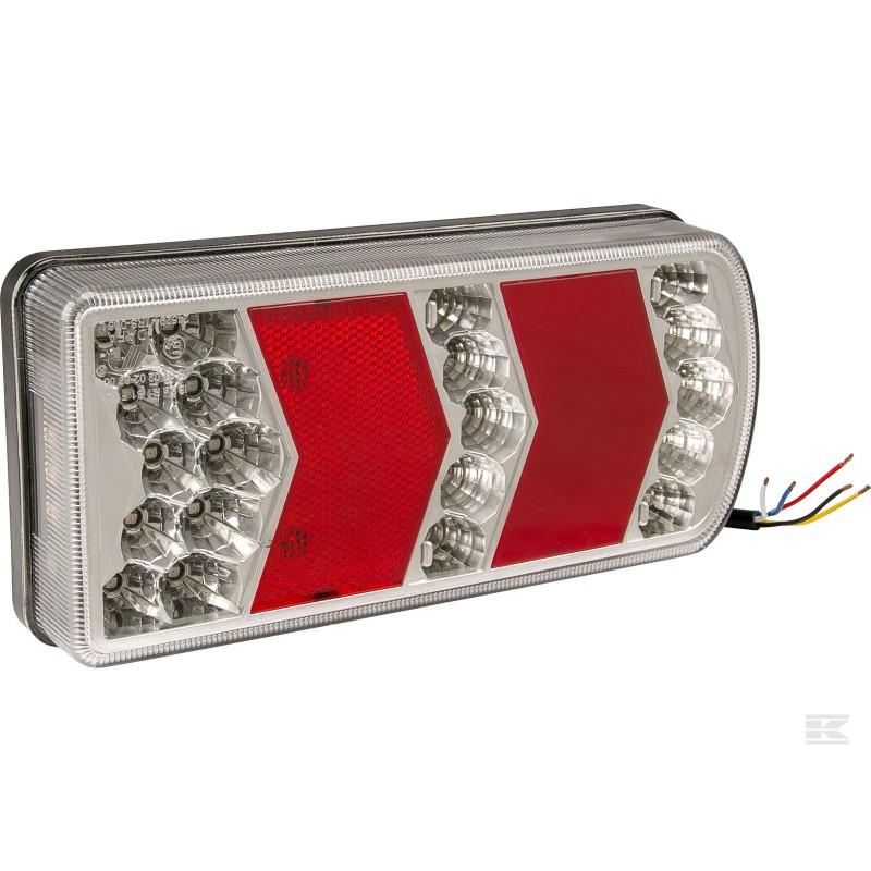 Baglygte LED - venstre med ledning