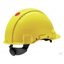 Sikkerhedshjelm med UV-indikator