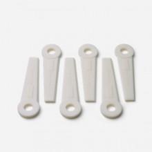 Husqvarna, udskiftelige plastknive