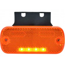LED Sidemarkeringslygte ORANGE